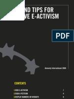 E-Activism Tool Kit