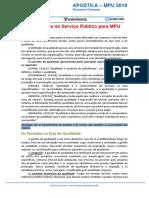 Excelência No Serviço Público Para MPU2