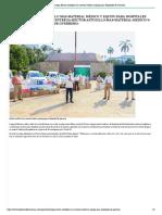 01:05:2020 Entrega Héctor Astudillo más material médico y equipo para Hospitales de Guerrero