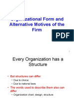 1.Organizational Form and Alternative Motiv