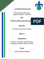 CADENA EPIEMIOLOGICA (1)