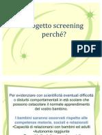 Progetto screening
