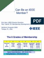 IEEE members types