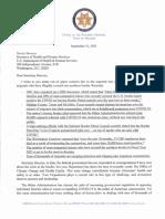 9.21 Arizona AG letter to Becerra on COVID