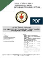 NT Nº 008-2020 - GLP e Central de GLP