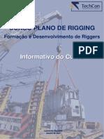 Informativo Plano de Rigging - TechCon Engenharia