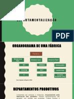 Aula 04 -  Departamentalização