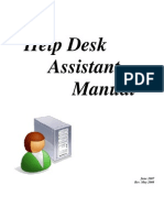 HelpDesk Assistant Manual