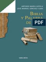 BIBLIA O PALABRA DE DIOS