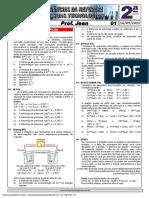Lista 01 para 16-09-21 - 2ª Série - Química - Jean - PILHAS