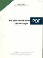 Una visione cristiana dell'ecologia, 1972