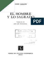 124468153 Caillois Roger El Hombre y Lo Sagrado
