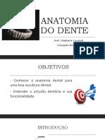 Anatomia Dental INTRODUÇÃO
