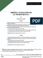 Evolucion de las neurociencias