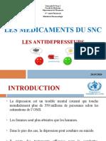 11les antidépresseurs-Pharmacie-2019-2020