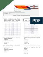EXERCICIOS Plano-Cartesiano