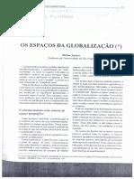 SANTOS, M. Os espaços da globalização