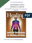 Spiritual Healing for Cancer