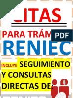 CITAS RENIEC PUBLICIDAD