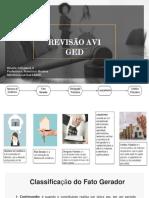 GED- Revisão - AV1
