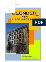 Blender 249 Per l Architettura Creative Commons Ilario de Angelis