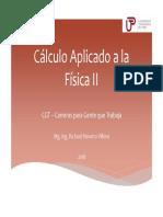 2. Clases Presenciales 2da Semana - Calc Aplicado Fisica 2 - 2019
