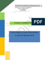 Pv CA Du 06 Décembre 2018 Snls