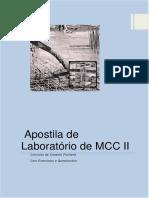 MCC II - Apostila Lab Concreto Cimento Portland