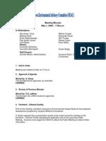 SuzanneEsltonEnvironmentalFactorOEACMinutes080501