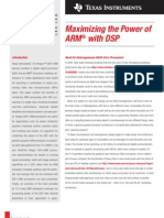 Maximizing tha Power of ARM with DSP