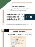 QGI - Aula 5 - pH e pOH