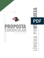 PROPOSTA LINGUA PORTUGUESA