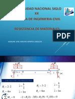 resistencia de materiales  clase 1