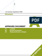 Building Regs A - Structure 2000