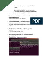Actividades sobre la instalacion de linux SOM