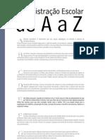 Administração Escolar de AaZ