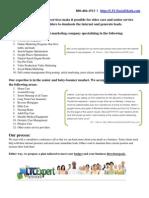 Marketing Home Care, Marketing Elder Care, LTC Expert Publications LLC Overview
