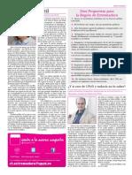 Periódico Marea Magenta UPyD Extremadura