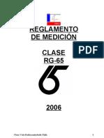 REGLAS RG65