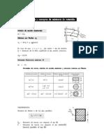 6 formulas de conceptos de resistencia de materiales