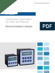 WEG Control Ad Or Automatico Pfw01 Manual Portugues Br