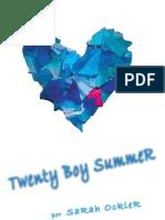 Twenty Boy Summer [Sarah Ockler]