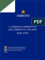 Concetto Operativo Dell'Esercito
