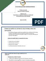PN 1.3 Diseño Instalaciones Hidrosanitarias