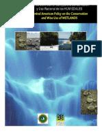 Política centroamericana para la conservación y uso racional de los humedales