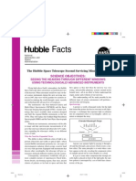 Hubble Facts the Hubble Space Telescope Second Servicing Mission (SM-2) Science Objectives