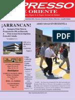 Expresso de Oriente 11 Abril 2011