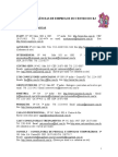 LISTA DE AGÊNCIAS, COOPERATIVAS, HOME CARE E HOSPITAIS(1)