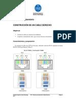 DRFR - Contrucción de un Cable Derecho