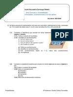 Ficha 1- Probabilidades EAC e IGR